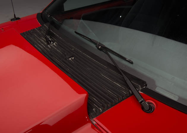Cowl Style Hood on a Foxbody