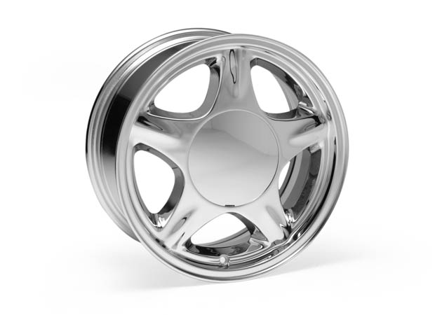 Foxbody Chrome Pony Rim
