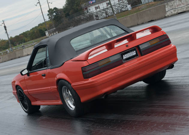 Foxbody Convertible Setup for Drag Racing
