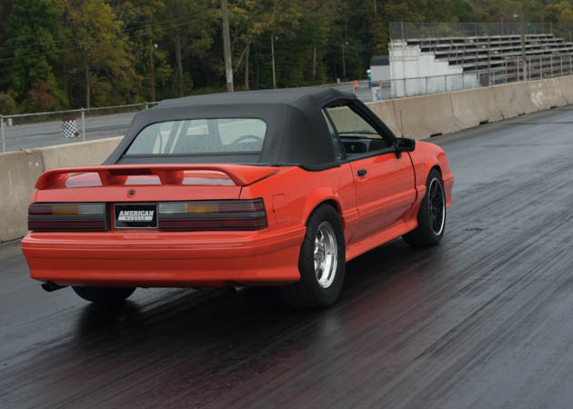1993 Convertible Foxbody Ready for a Drag Run