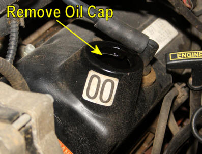 How To Change Mustang Oil Step 1