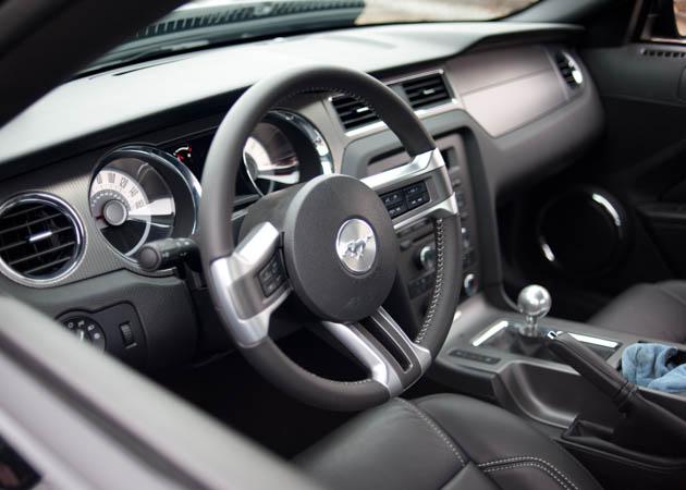 2012 Mustang Interior