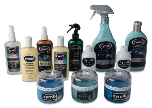 Collection of Mustang Zymol Cleaning Supplies