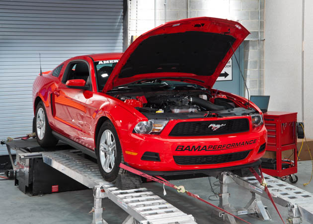2011 Mustang V6 on a Dyno