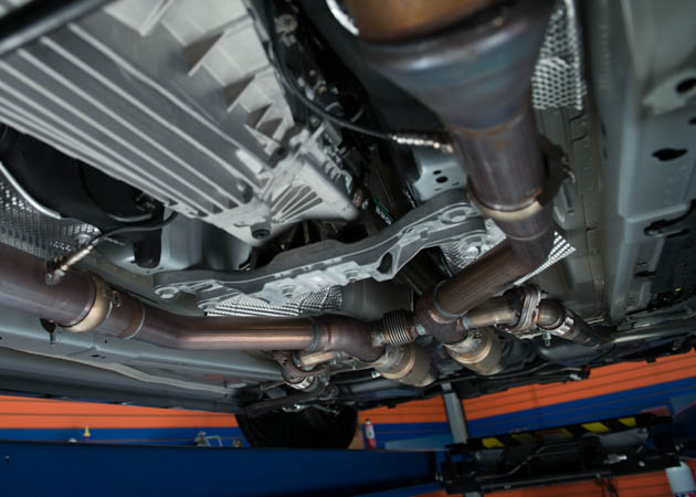 2014 MMD Project Mustang with Various Mid-Pipe Configurations