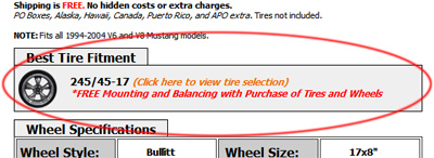 Buyers Guide Ford Mustang Tires