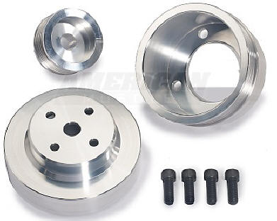 BBK Underdrive Pulley Set for the Mustang
