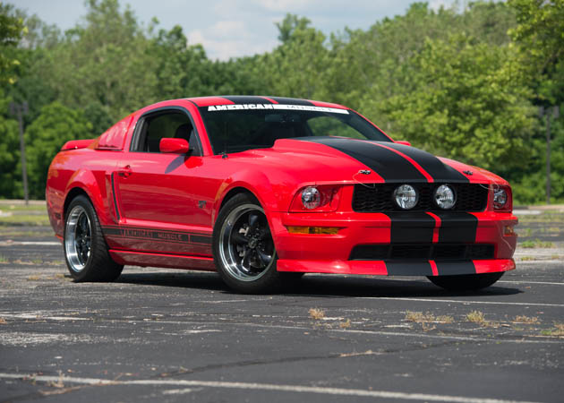 2007 GT Mustang with Bullit Style Rims