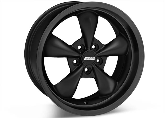 Black Deep Dish Bullitt Wheel