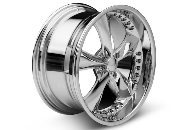 Mustang Foose Chrome Wheel