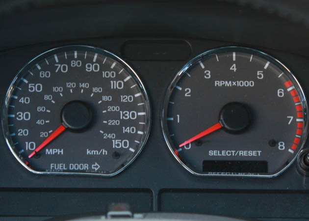 Mustang Speedometer and Tachometer
