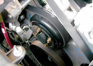1996-2001 Mustang Water pump Pulley