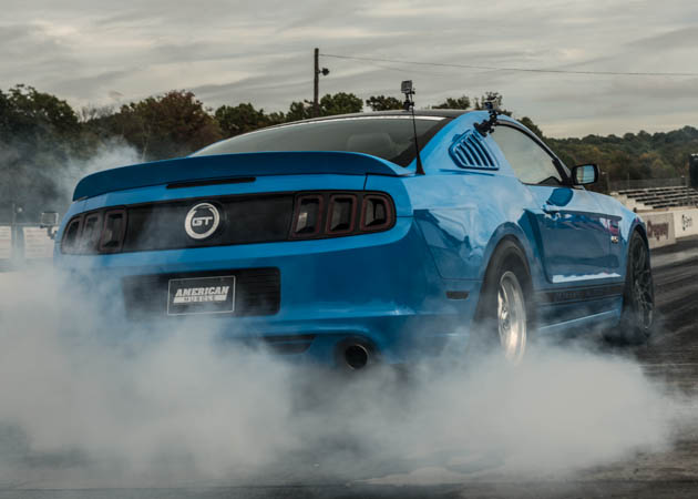 2013-2014 Mustang at the Drag Strip