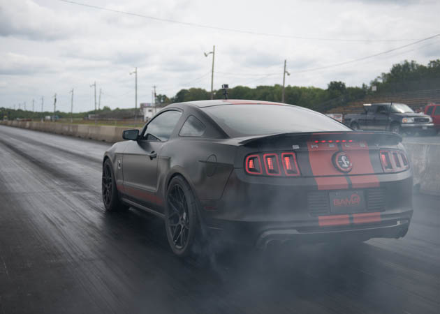 2014 Mustang GT Launching on the Drag Strip