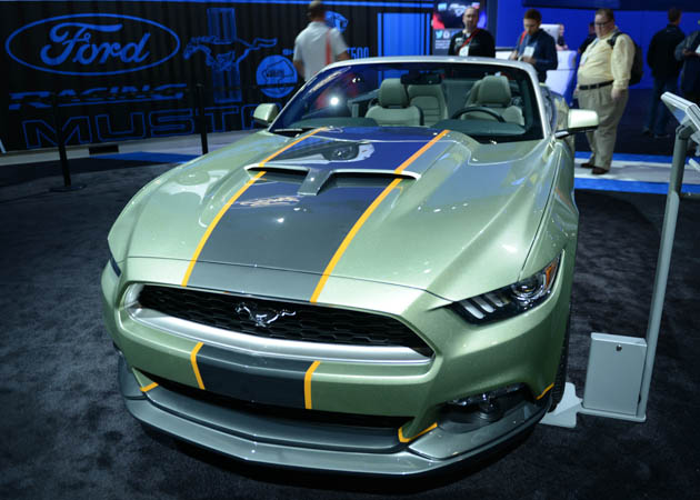 2015 Mustang Showing Off at SEMA