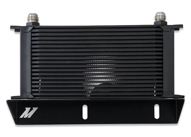 Black Mishimoto Oil Cooler