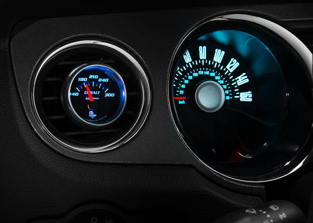 Mustang Oil Temperature Gauge
