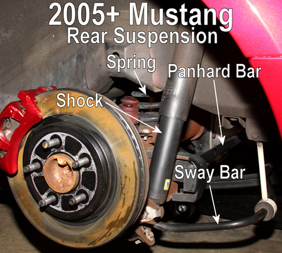 2005 Mustang Rear Suspension Diagram