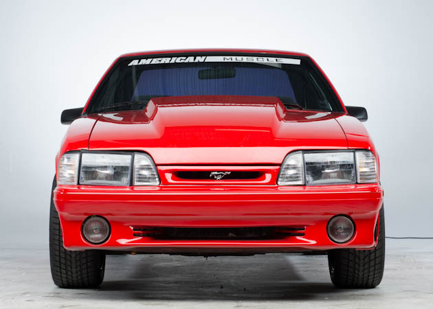 Front End of a Foxbody