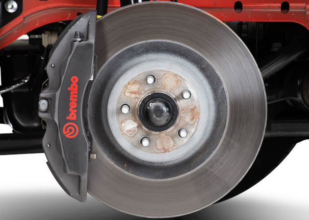 Brembo Gt Brake Kit >> Upgrading the Brakes on Your S550 Mustang | AmericanMuscle