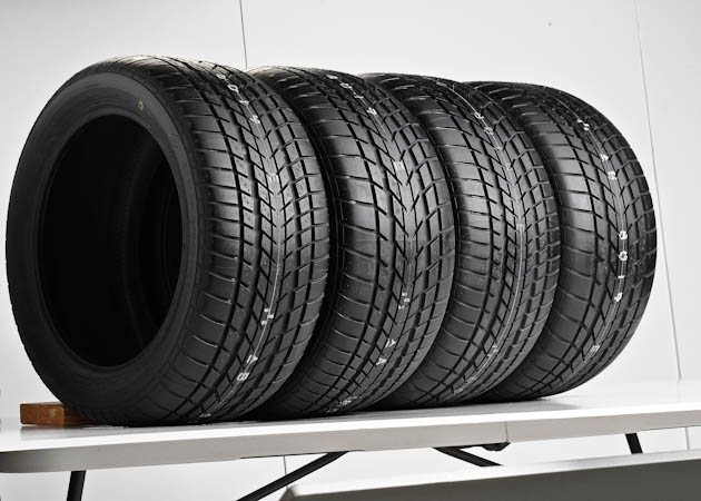 Set of Mustang Performance Tires