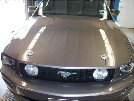 Shelby Mustang Aluminum Hood Pin Kit 05 09 Installation