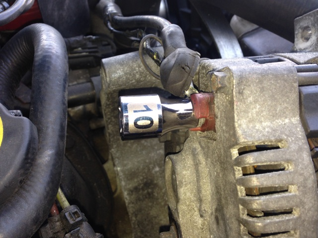 how to install an sr performance alternator on your 1987 1993 5 0l rh americanmuscle com John Deere Alternator Wiring 1966 Mustang Alternator Wiring