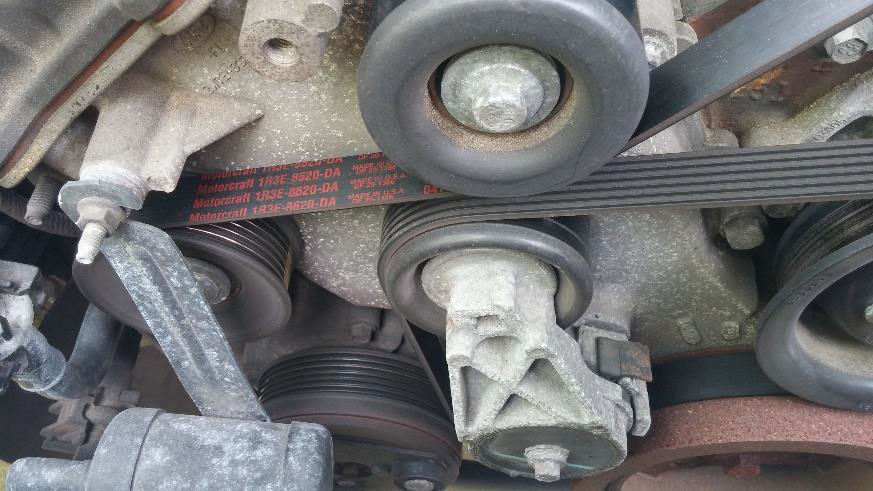 How To Install A Mustang Belt Tensioner Assembly On Your 2003 2004