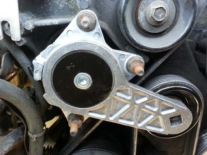 How To Install A Belt Tensioner Assembly On A 1996 1999