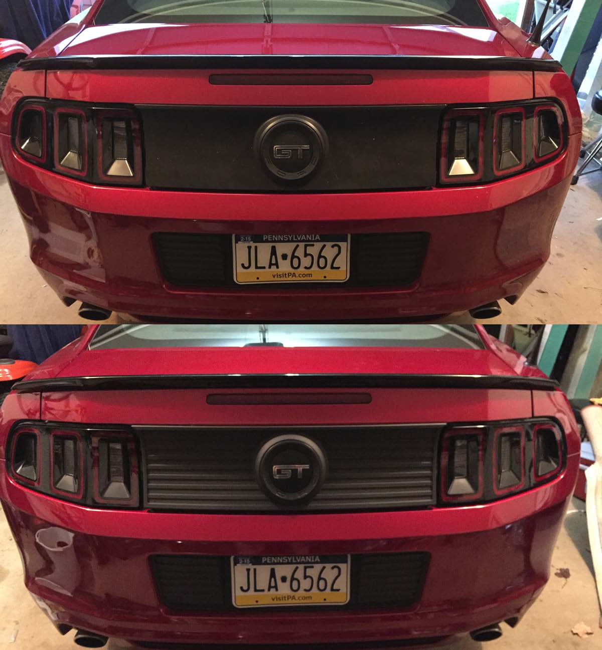 How To Install An Mmd Decklid Panel For Your 2013 Or 2014 Mustang
