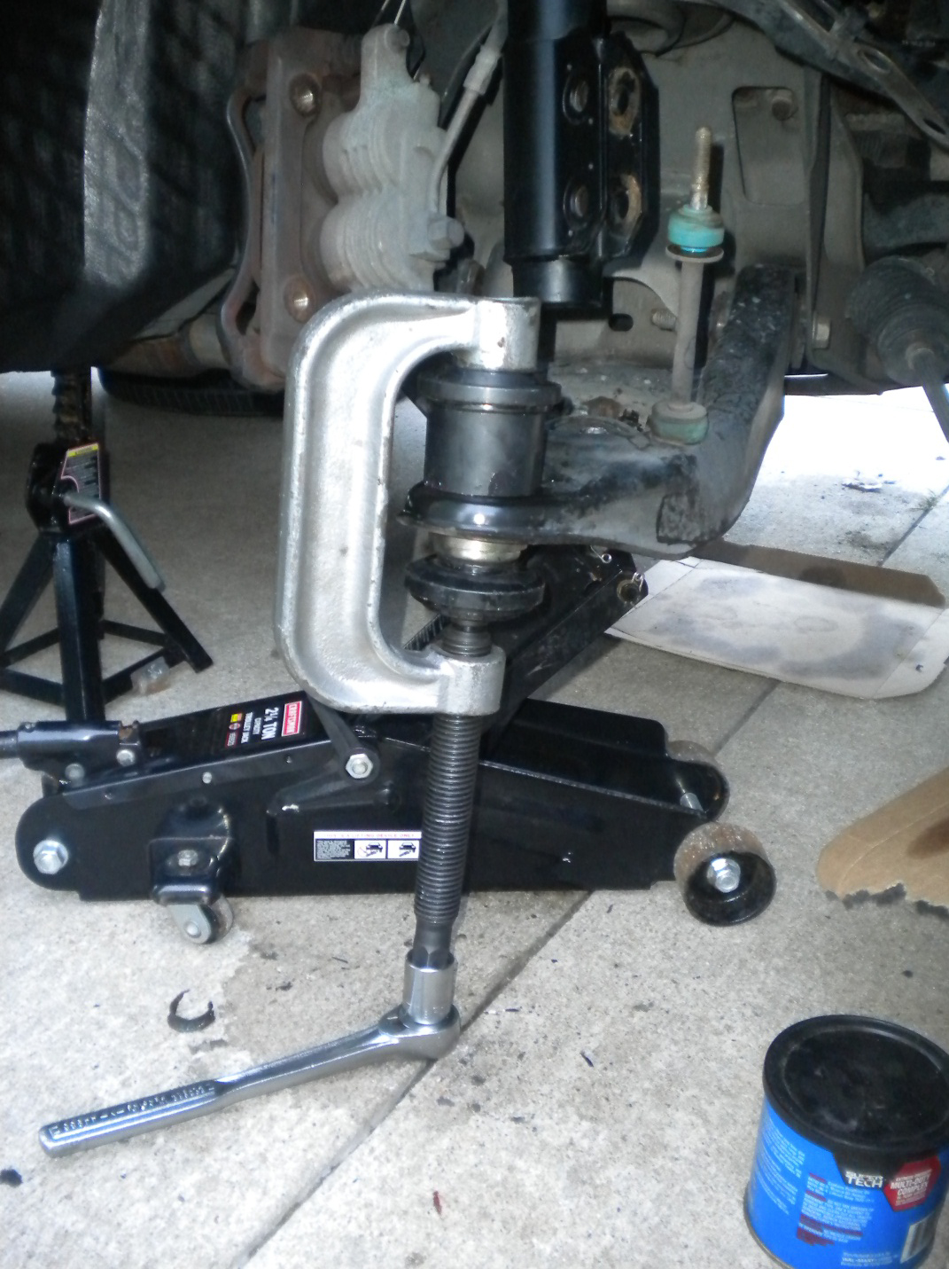 How to install a steeda x2 ball joint kit on your 1994 2004 mustang americanmuscle