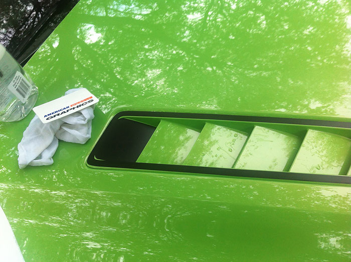How To Install A Hood Vent Accent Decal On Your 2013 2014