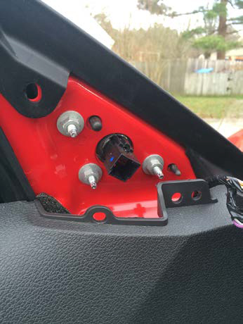 How To Install A Raxiom Mustang Puddle Lamp Kit Red