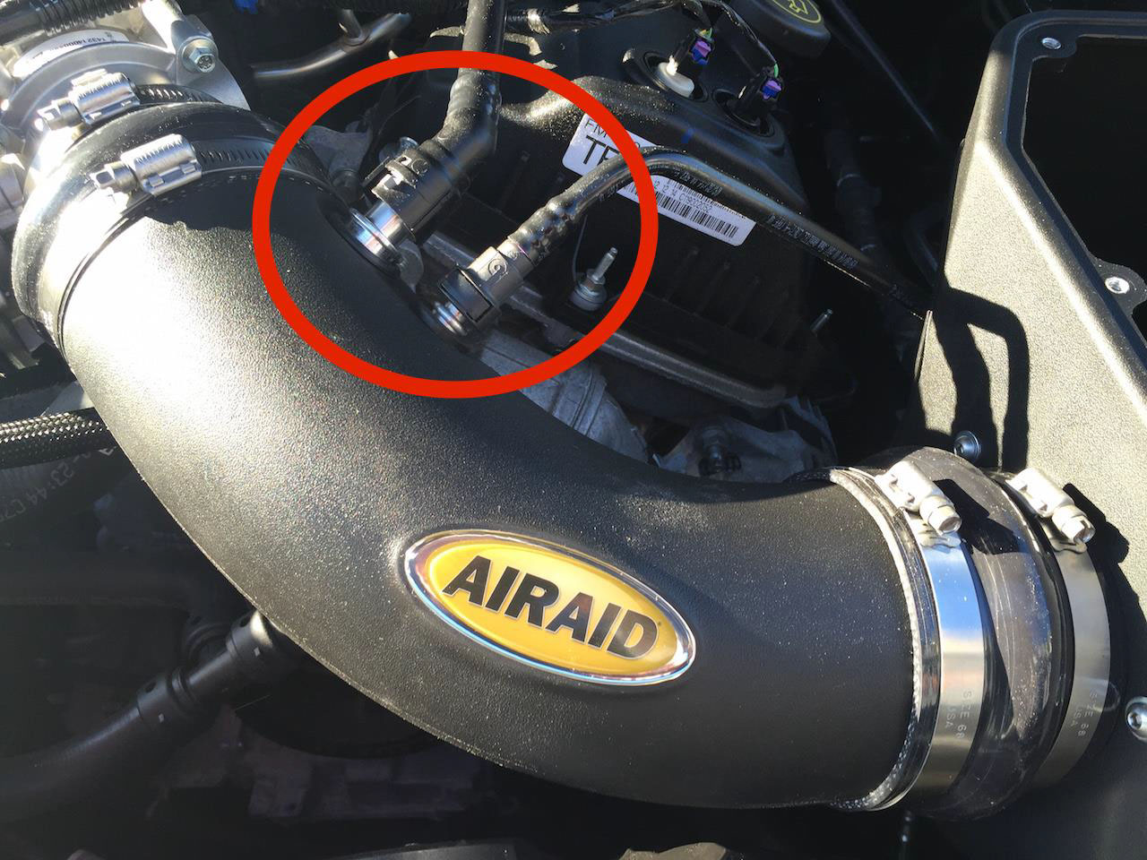 How To Install An Airaid Cold Air Intake Synthaflow Oiled Filter