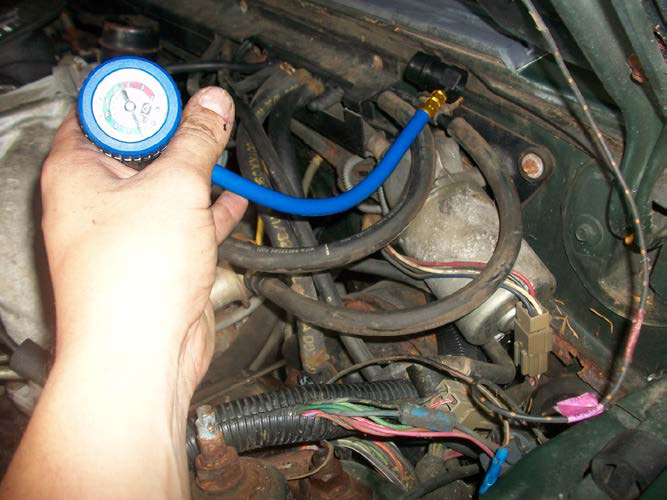 How To Install A Kirban Adjustable Fuel Pressure Regulator For Your Rhamericanmuscle: 1996 Ford Mustang Fuel Pressure Regulator Location At Gmaili.net