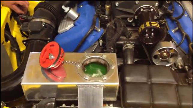 How To Install a Ford Racing Electric Intercooler Water Pump on your