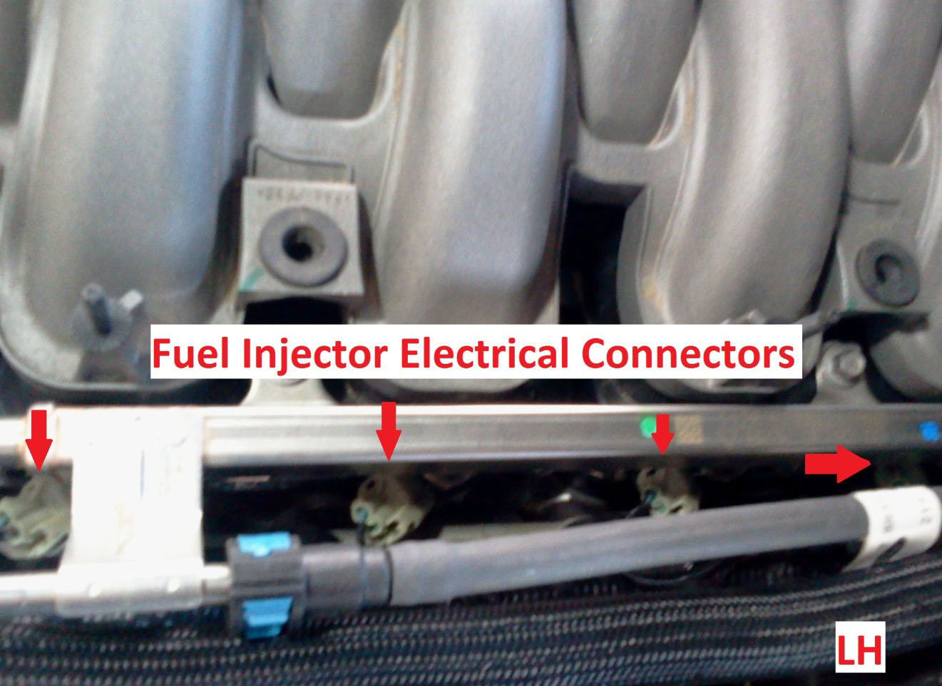 How To Install A Boss 302 Intake Manifold On Your 2011 2013 Mustang Driving Light Wiring Diagram 11 At This Point You Should Depressurize Fuel System Note Safety Goggles Are Recommended When Ready Continue Use The 3 8 And Disconnect