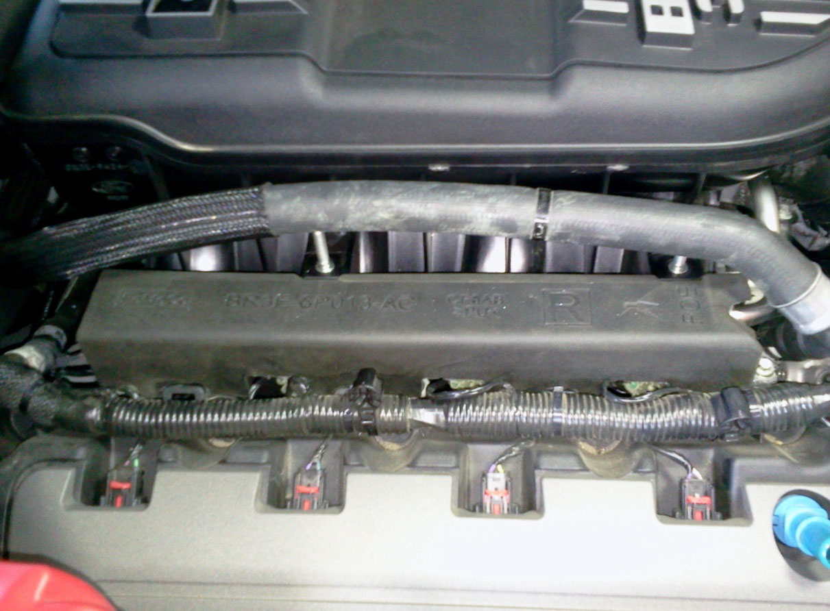 how to install a boss 302 intake manifold on your 2011