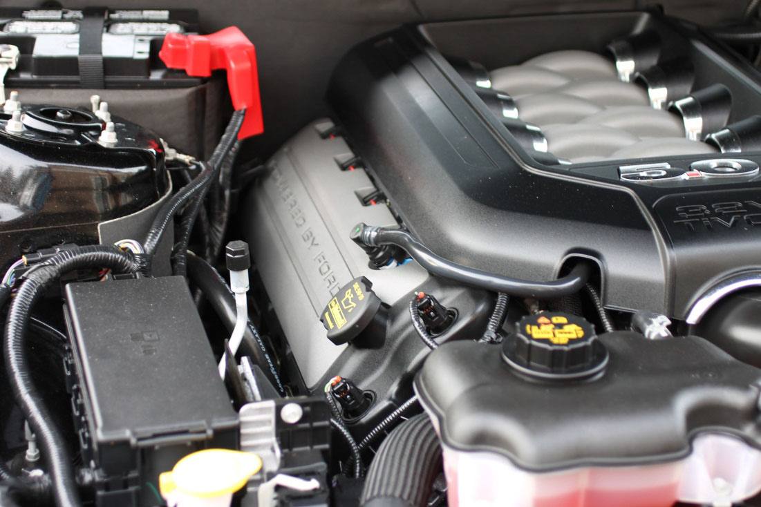 How To Install Ford Racing Boss 302 Coil Covers On Your 2011 2013 1989 Mustang Fuel Filter 1 Make Sure That The Engine Bay Is Cool And Been Shutoff For At Least 15 Minutes Before Starting Parts Surrounding May Be Very
