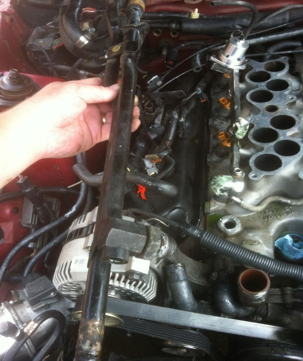 How To Install A Ford Racing Intake Manifold Gasket On