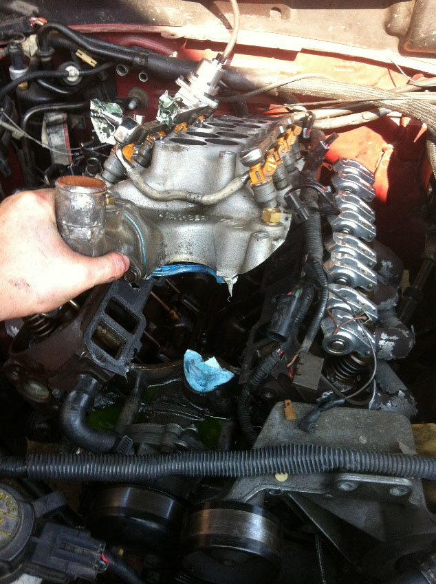How To Install A Ford Racing Intake Manifold Gasket On Your