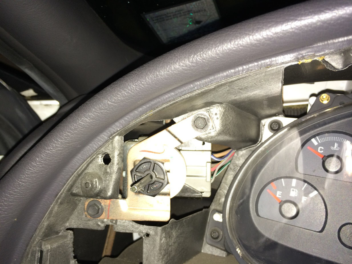 How To Install A Replacement Headlight Switch Knob On Your 1994 2004 1999 Mustang Fuel Filter Rep 4 Next Use 9 32 Socket Remove The Two Bolts Inside Dash