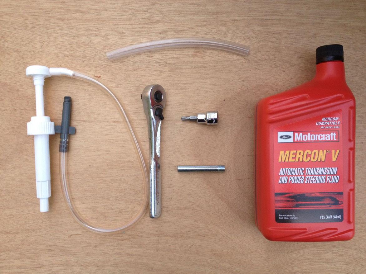 Method #2 - Gear lube pump with filler adaptor.