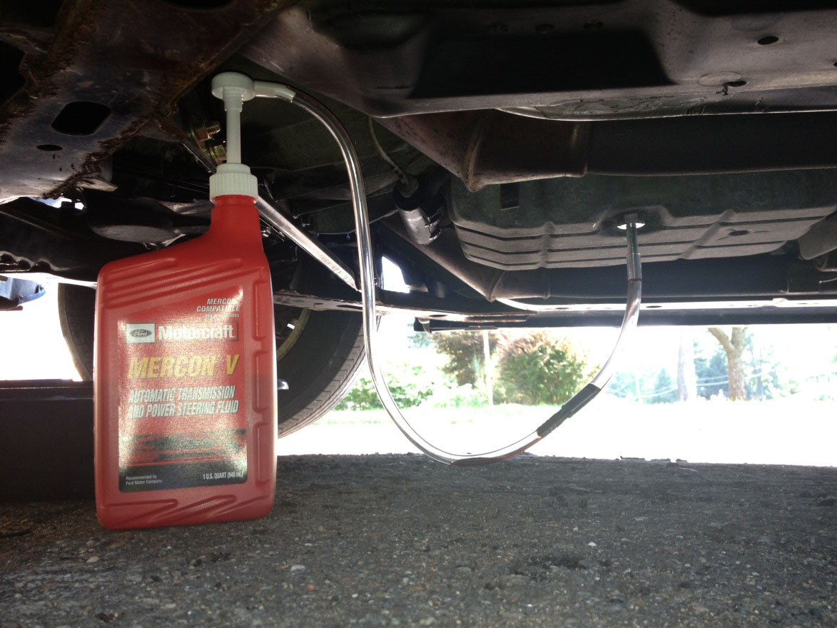 2002 ford f150 transmission fluid