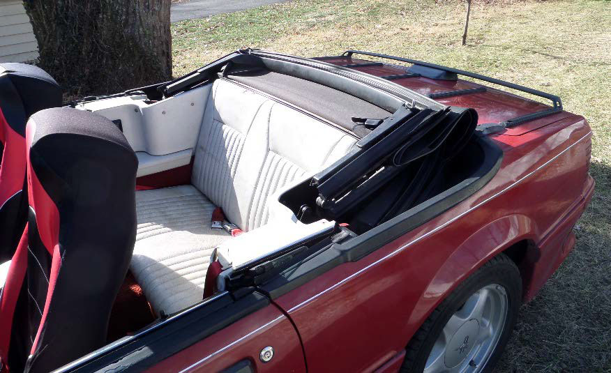 how to install the tmi convertible top boot in your 1983. Black Bedroom Furniture Sets. Home Design Ideas