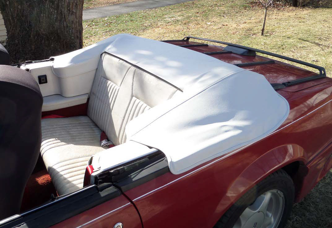 How to install the tmi convertible top boot in your 1983 1989 enjoy your new convertible top boot fandeluxe Image collections