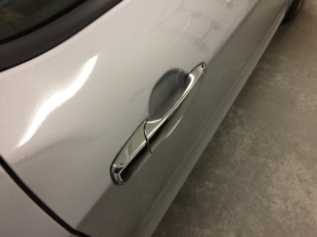 How To Install A Chrome Exterior Door Handle On Your 2005 2017 Mustang Americanmuscle