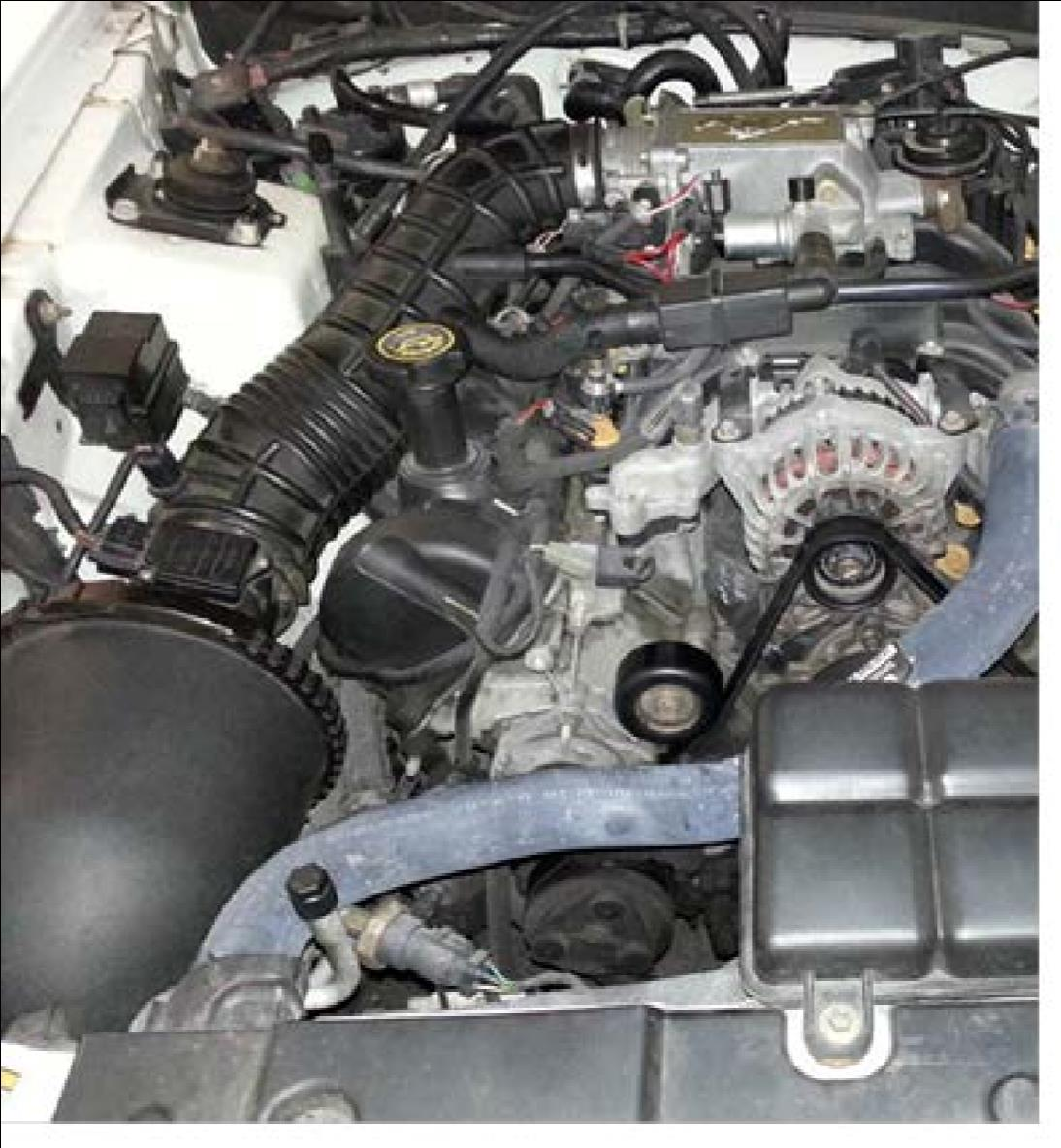 How To Install A Bbk Cold Air Intake On Your 1996 2004 Mustang Gt 1999 Ford 4 6 Engine Diagram Maf Save The Rubber Grommets That Were Pulled From Oem Filter Housing And Be Very Careful With Sensor Unit
