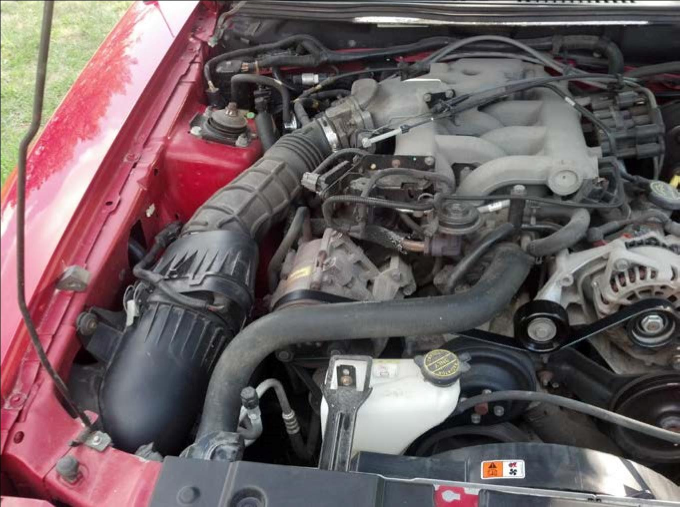 How To Install A Bbk Cold Air Intake On Your 1999 2004 Mustang V6