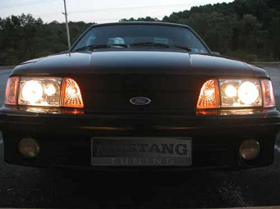 Fox Mustang Projector Headlights Installation Guide ... on
